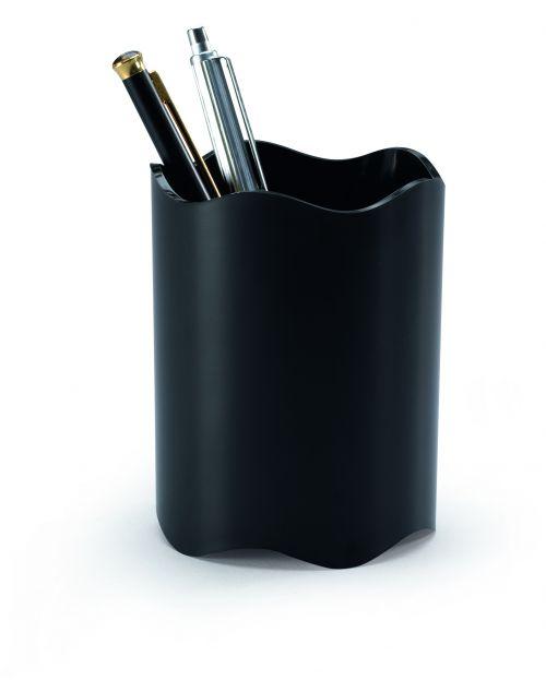 Durable Trend Pen Cup Black