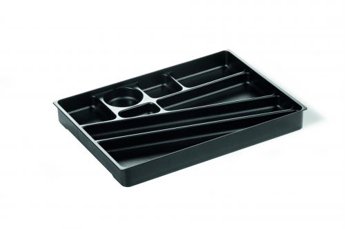 Durable Idealbox Desk Drawer Organiser Tray Black