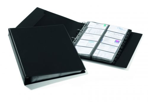 Durable Visifix Economy Business Card Album A4 2444/01