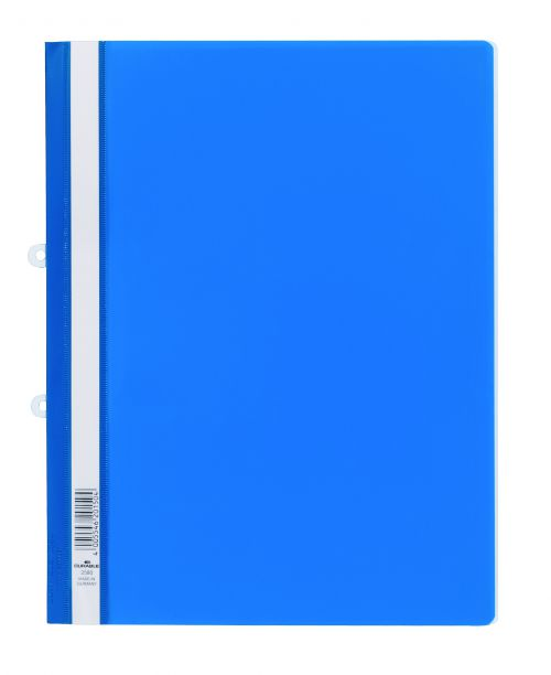 Durable Clear View Folder A4 Blue (Pack of 25) 2580/06