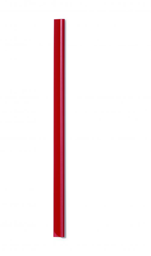 Durable Spine Bar A4 6mm Red 293103 (PK50)