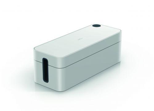 Durable CAVOLINE BOX L Cable Box Grey Ref 503010