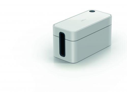 Durable CAVOLINE BOX S Cable Box Grey Ref 503510