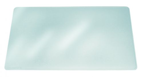 Durable Duraglas Desk Mat 650x500mm Clear 7113/19