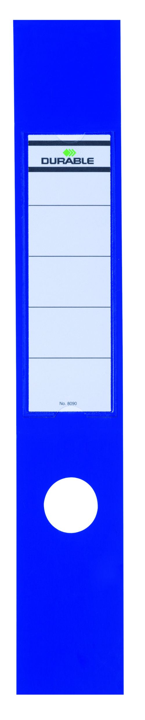 Durable Blue Ordofix File Spine Label (Pack of 10) 8090/06