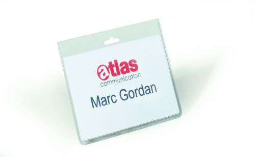 Durable Security Name Badge w/out Clip 60x90mm 8135 (PK20)