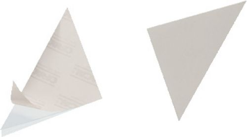 DURABLE CORNERFIX Self Adhesive Corner Pockets 125x125mm Pack 100