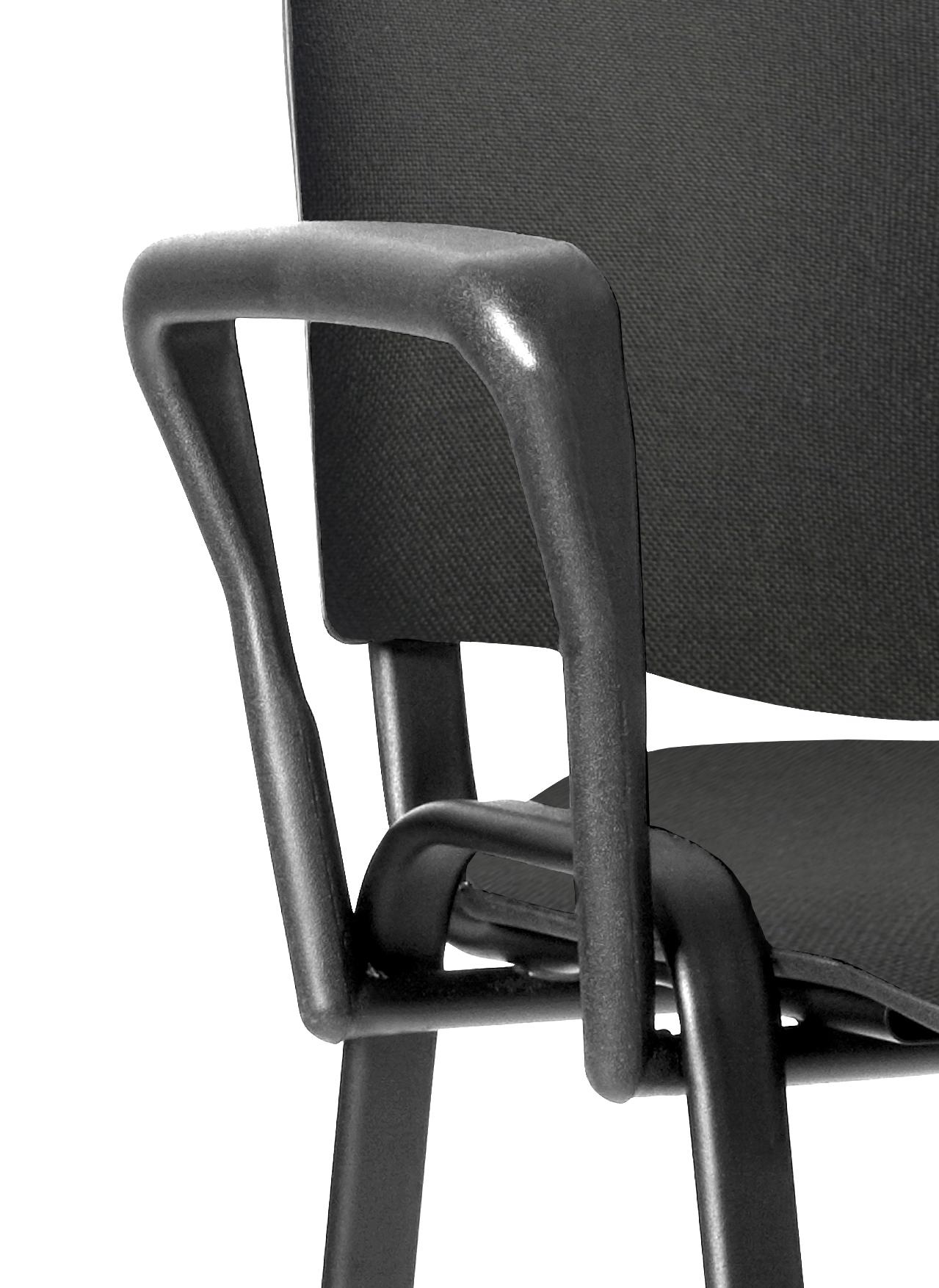 Chair ISO Black Shaped Arm Set AC000002