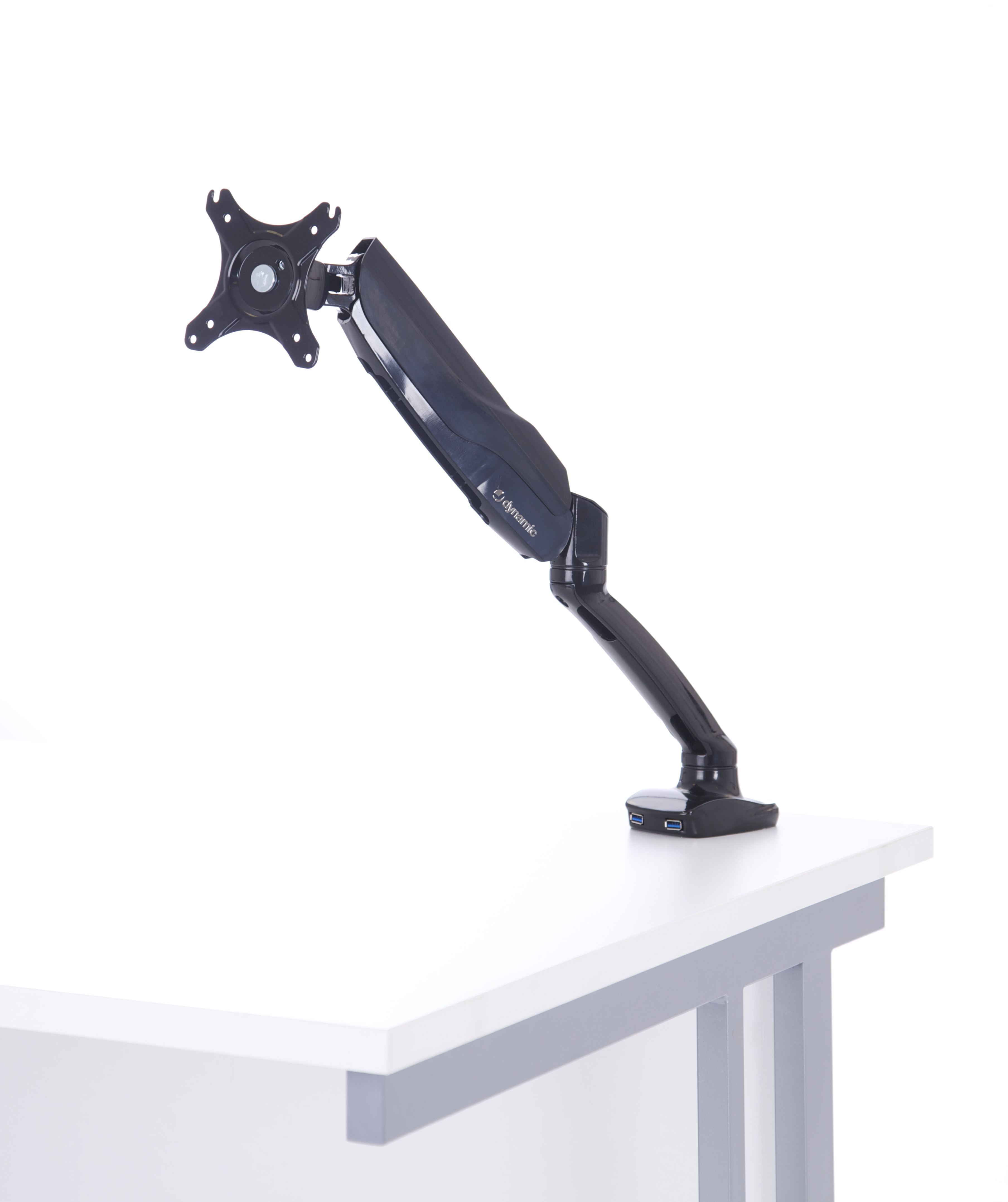 Easy Adjust Single Monitor Arm in Black