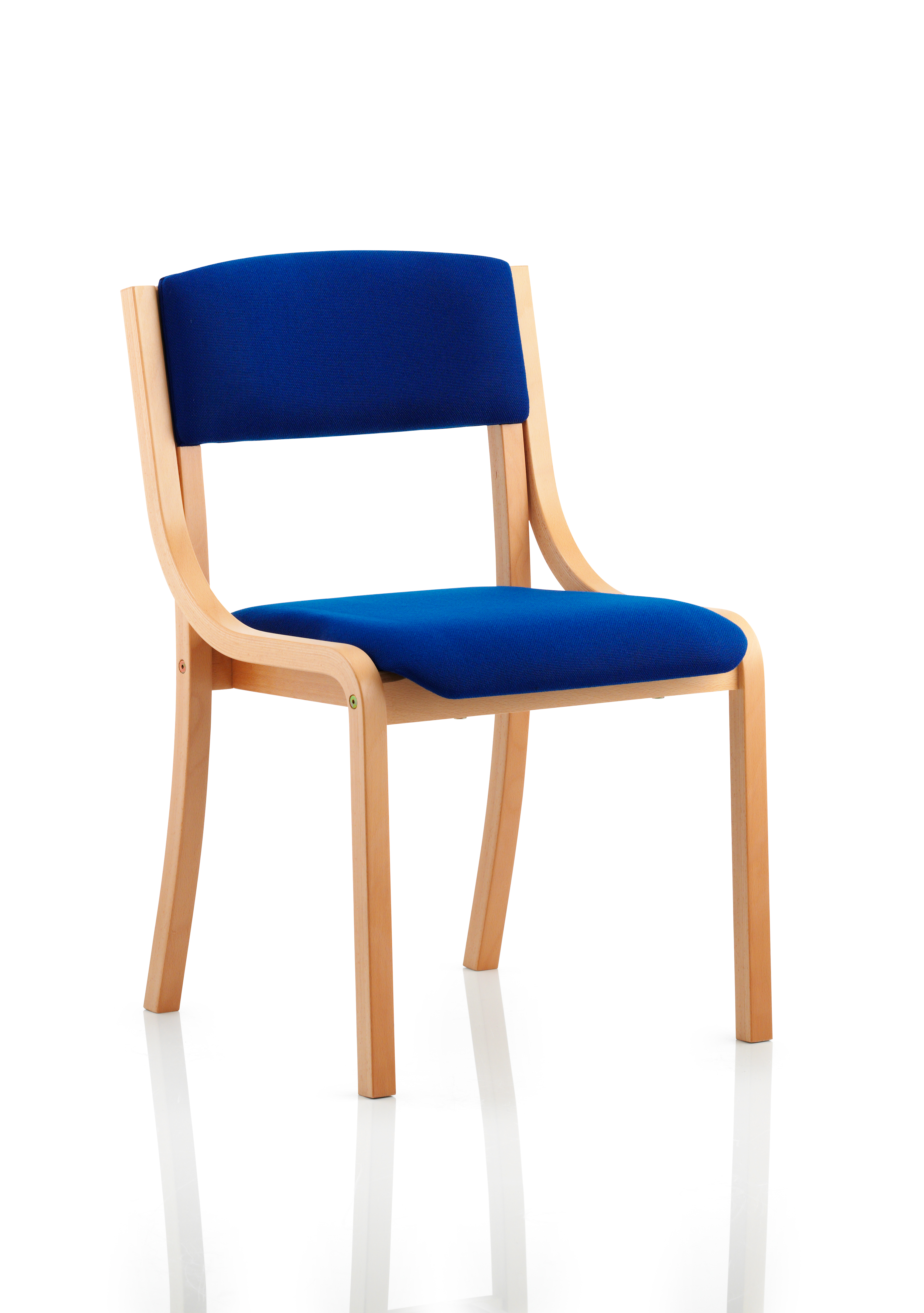 Stacking Chairs Madrid Visitor Chair Blue BR000087