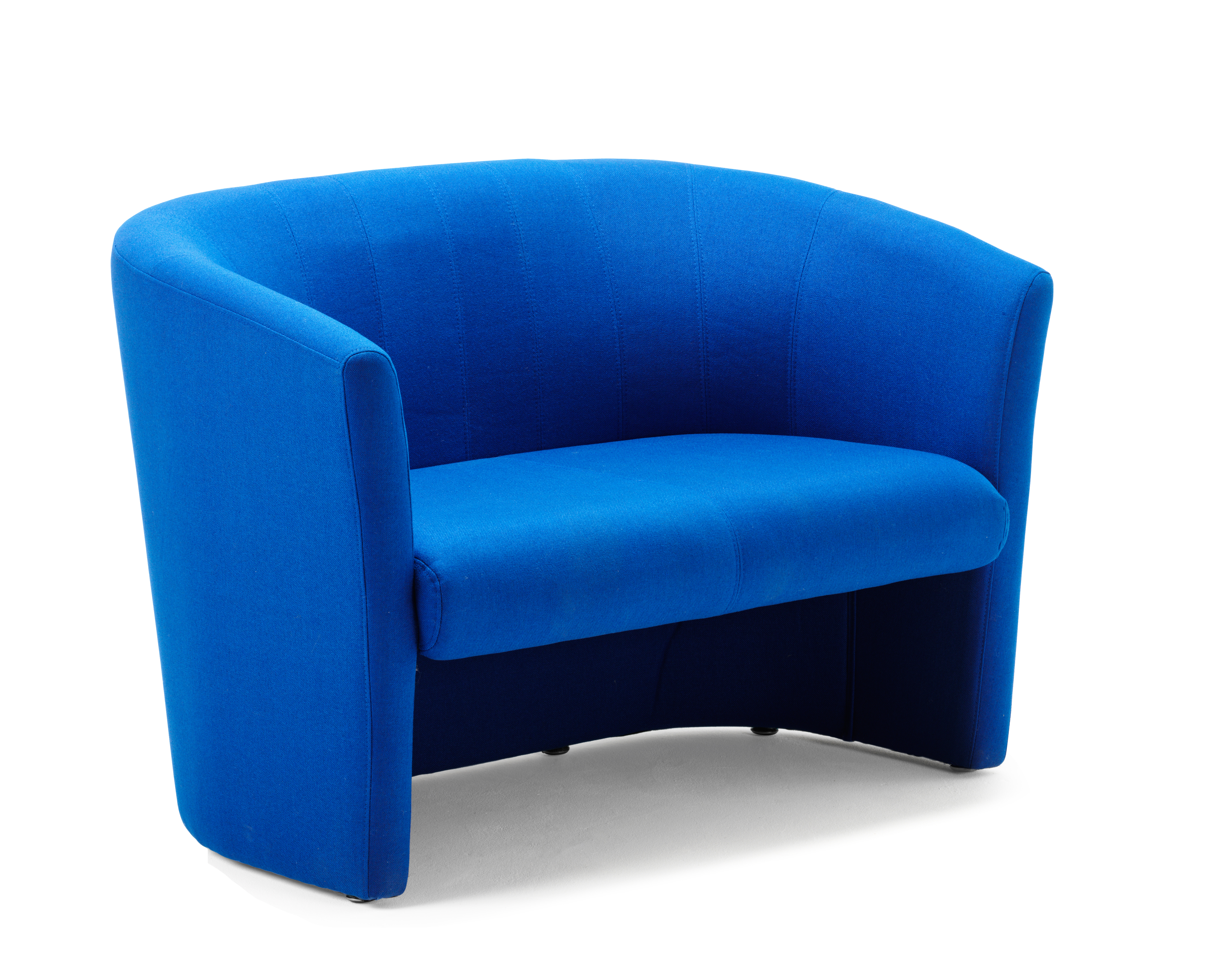 Reception Chairs Neo Twin Tub Blue Fabric BR000104
