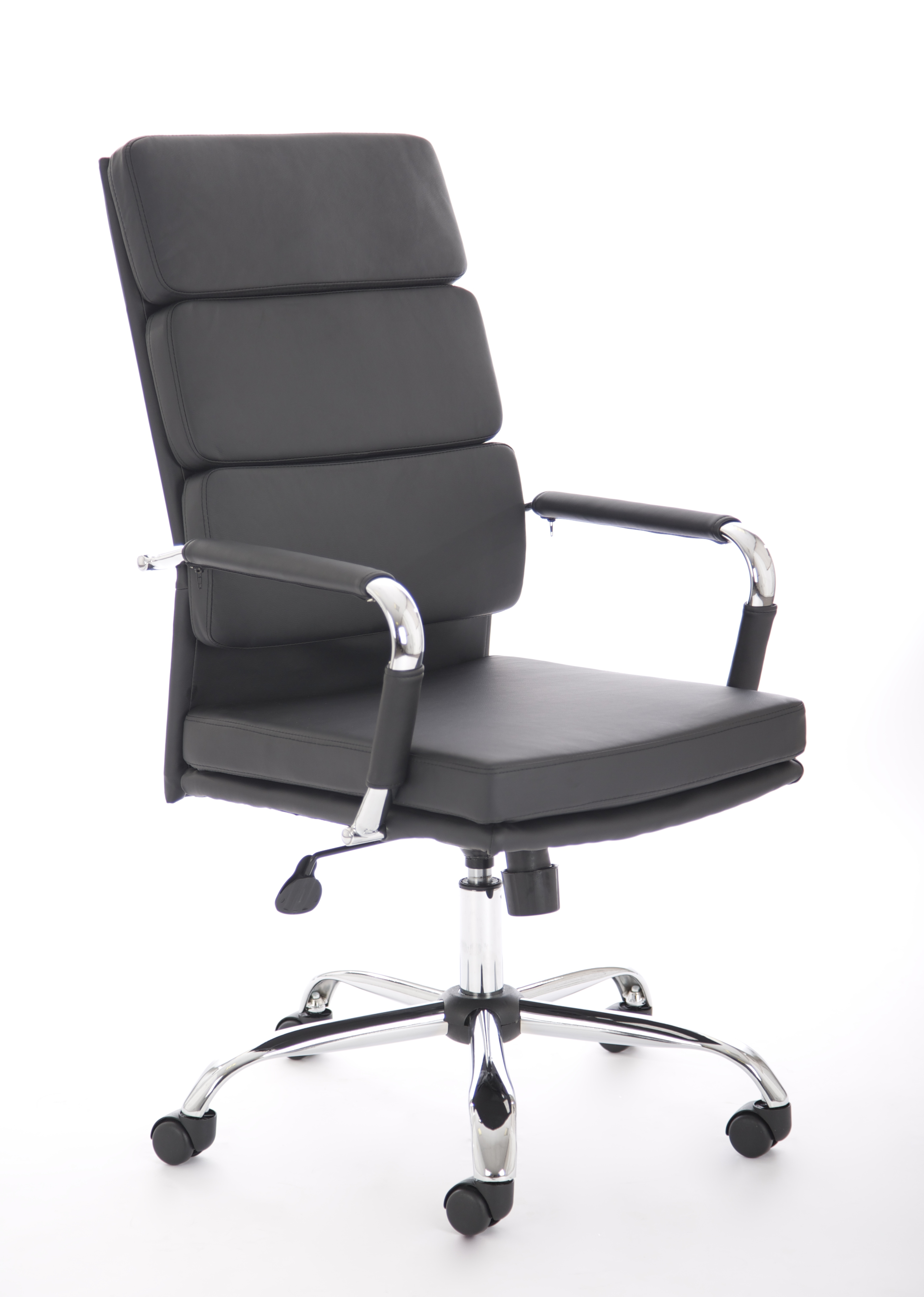 Executive Chairs Advocate Executive Chair Black Soft Bonded Leather With Arms BR000204