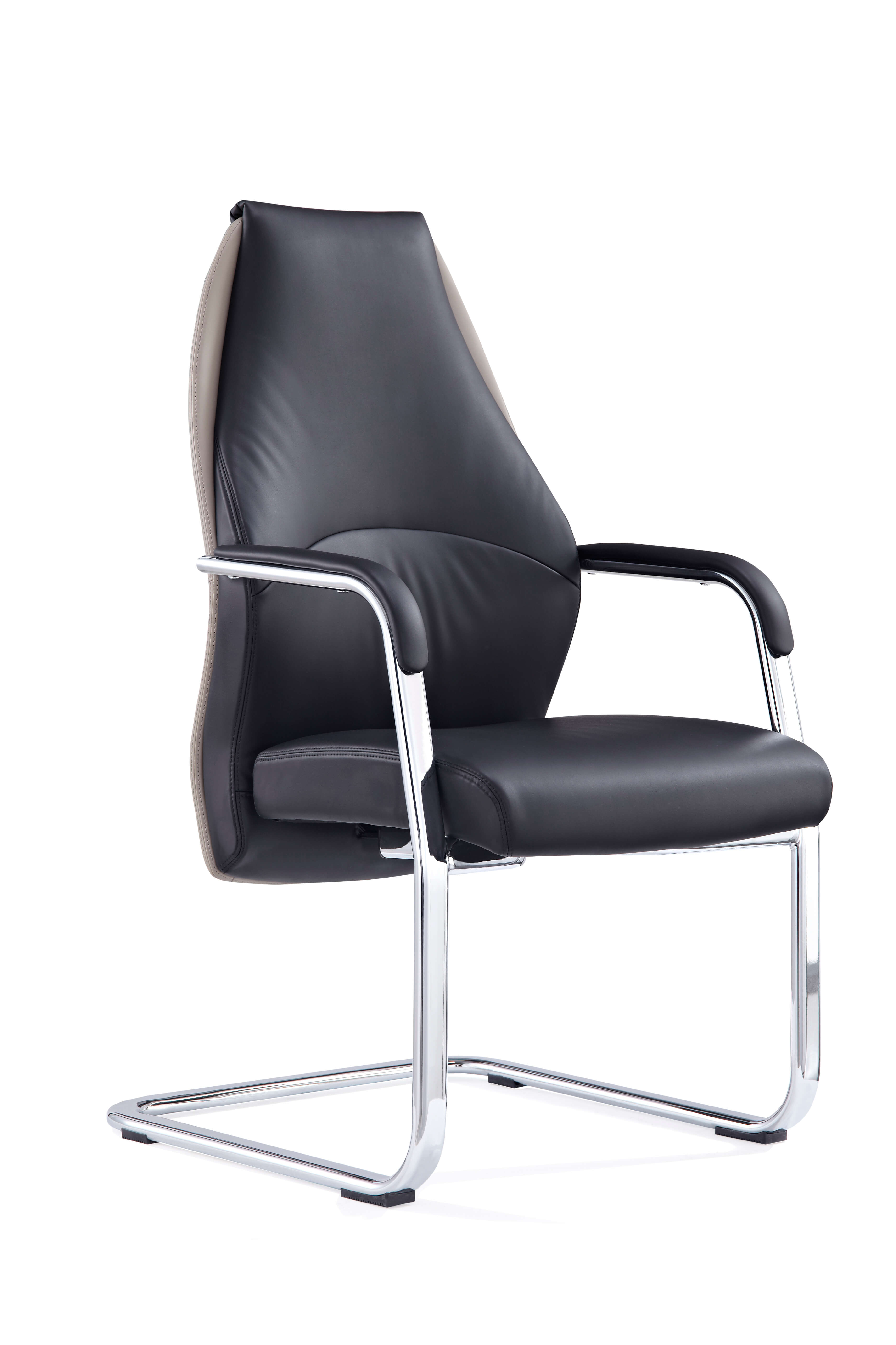 Mien Black and Mink Cantilever Chair BR000212