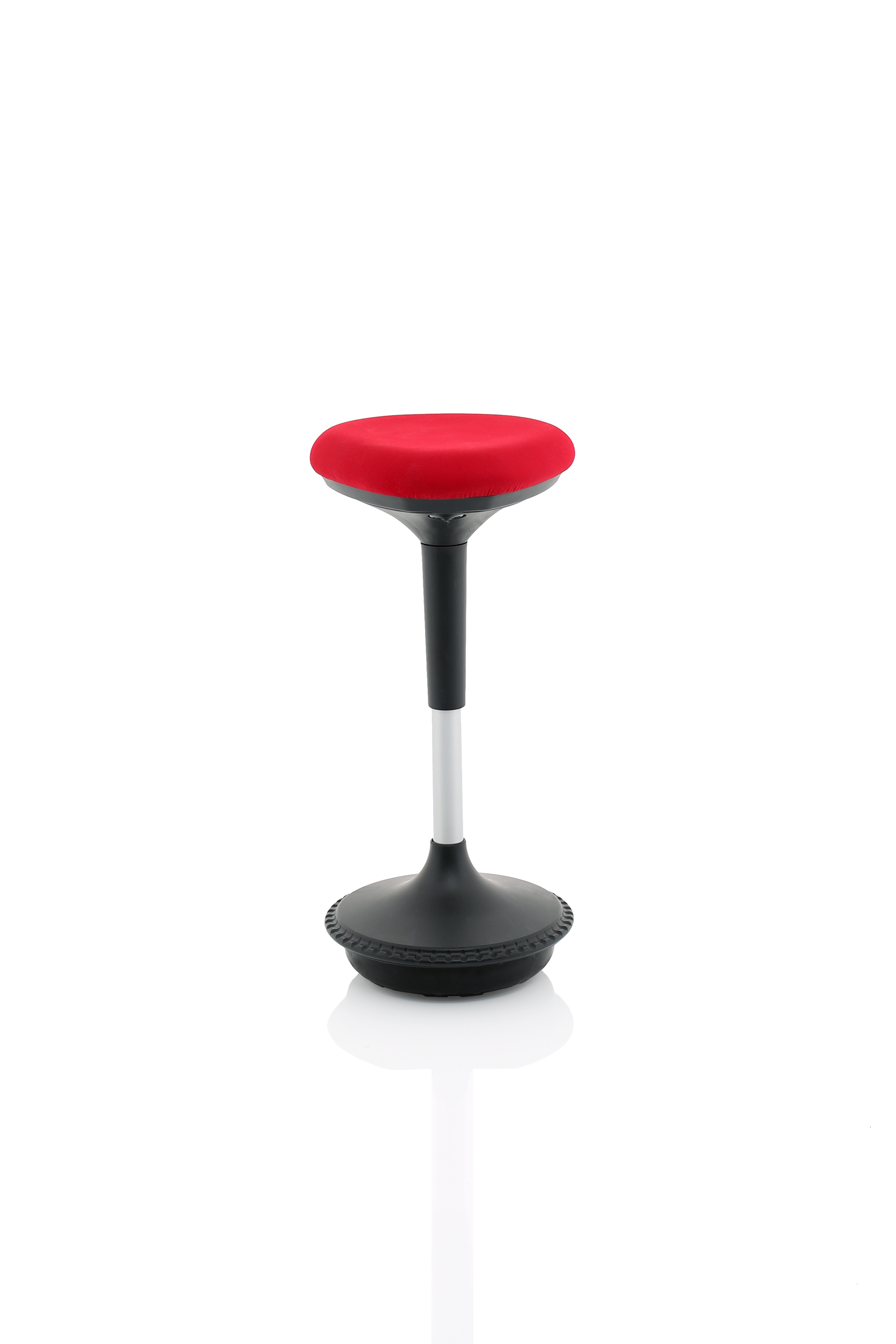 Sitall Deluxe Vistor Stool Fabric Seat Red BR000215