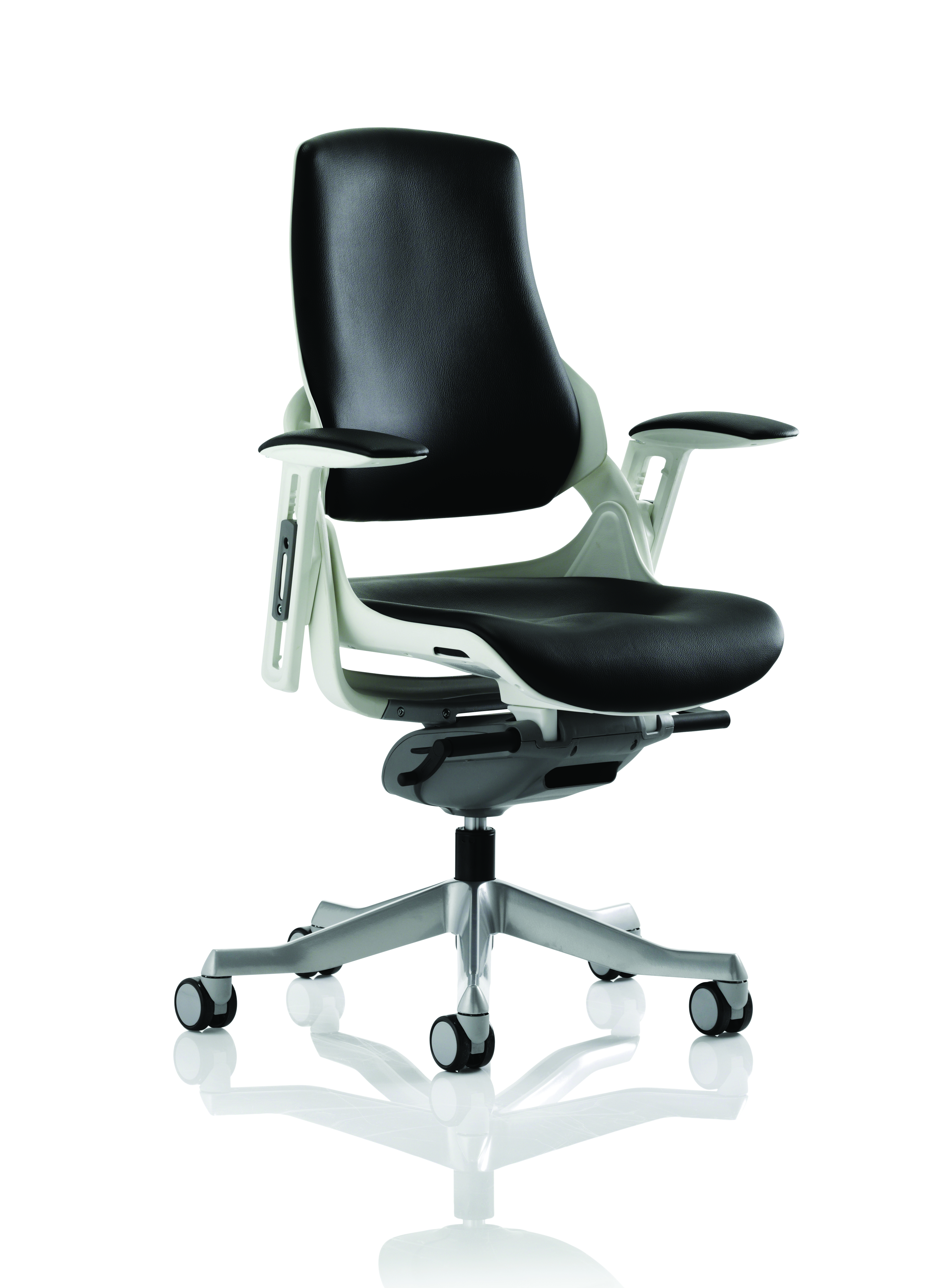 Executive Chairs Zure Black Leather With Arms EX000110