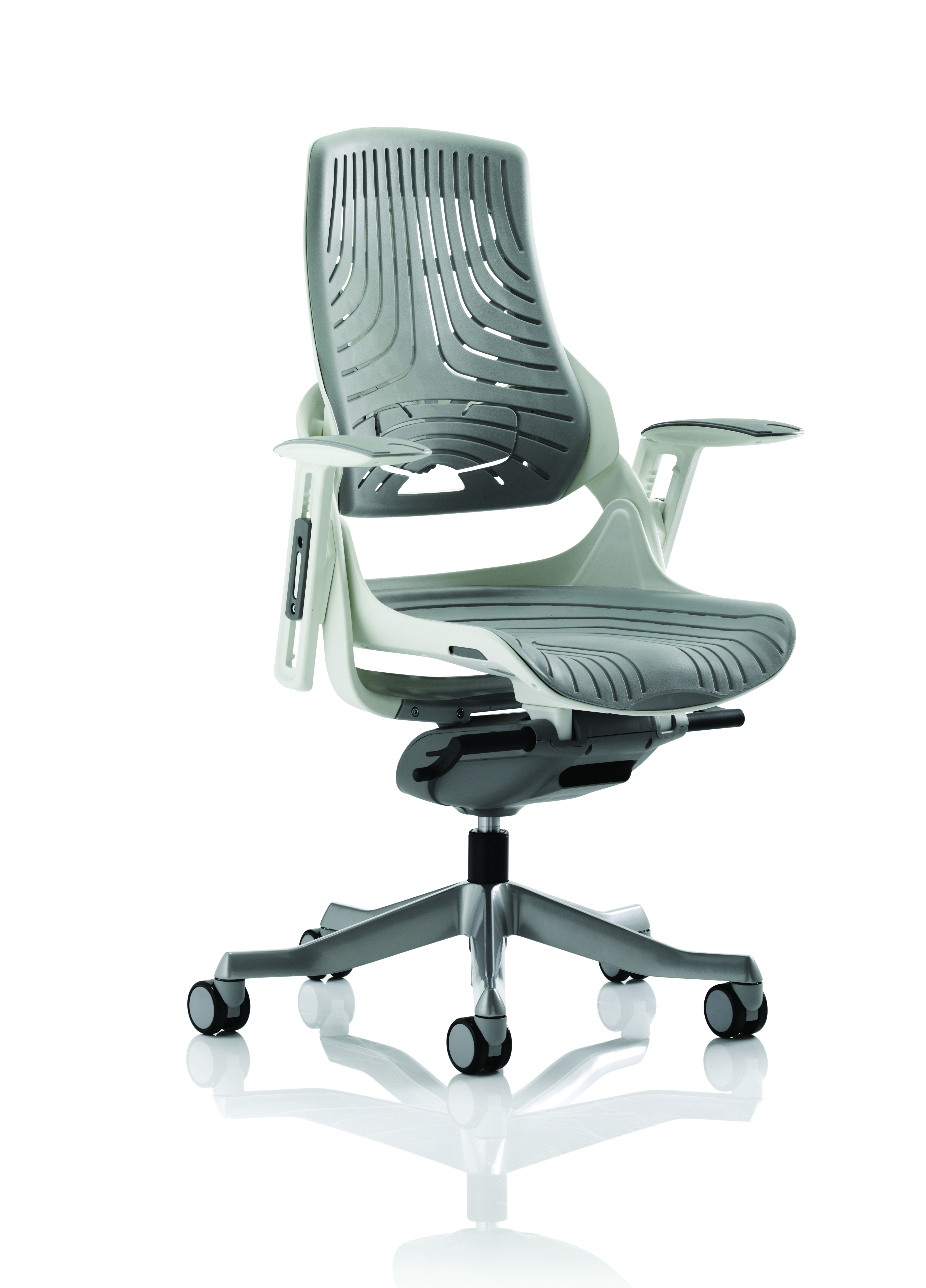 Executive Chairs Zure Elastomer Gel Grey With Arms EX000112