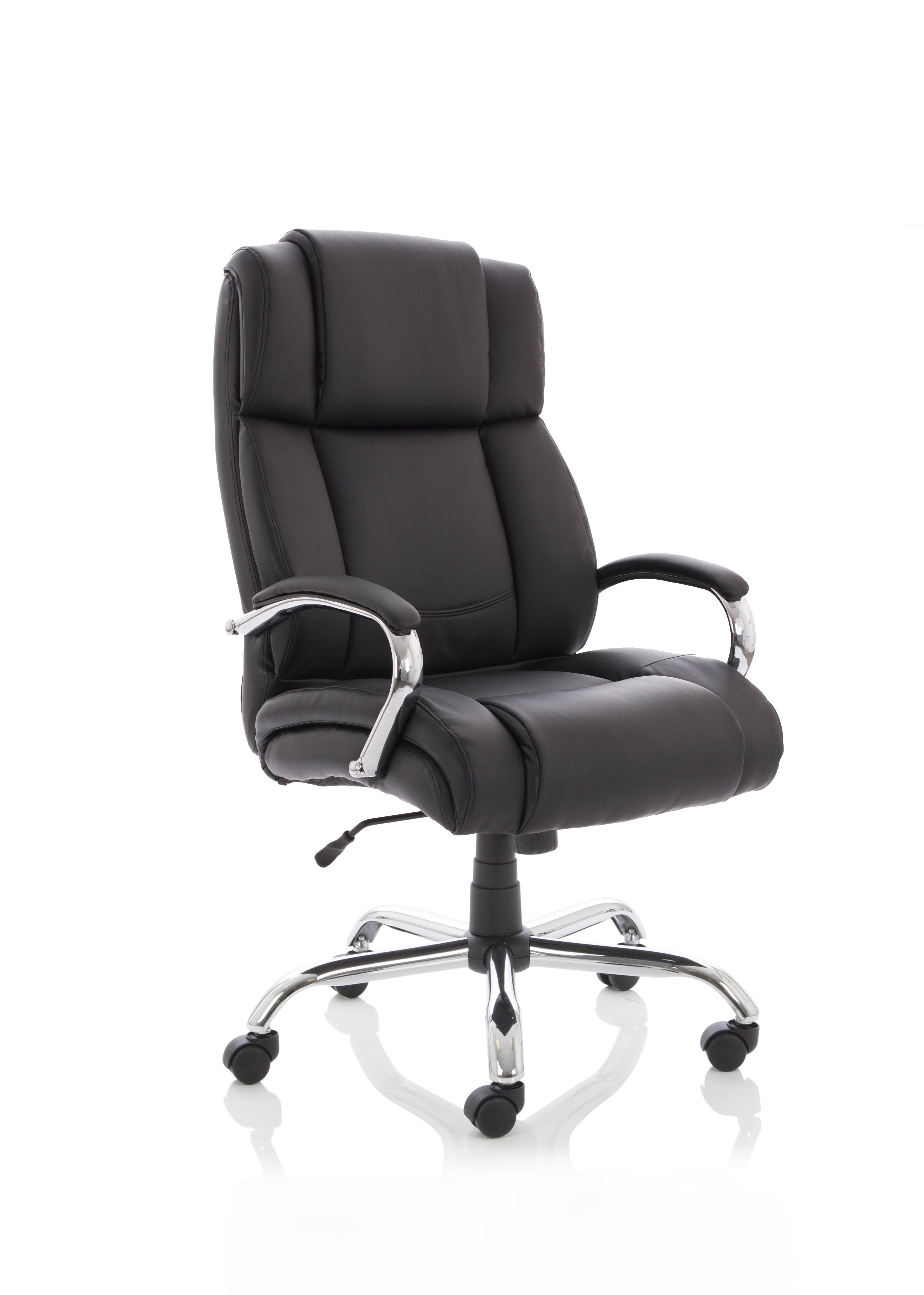 Executive Chairs Texas Black Soft Bonded Leather EX000115