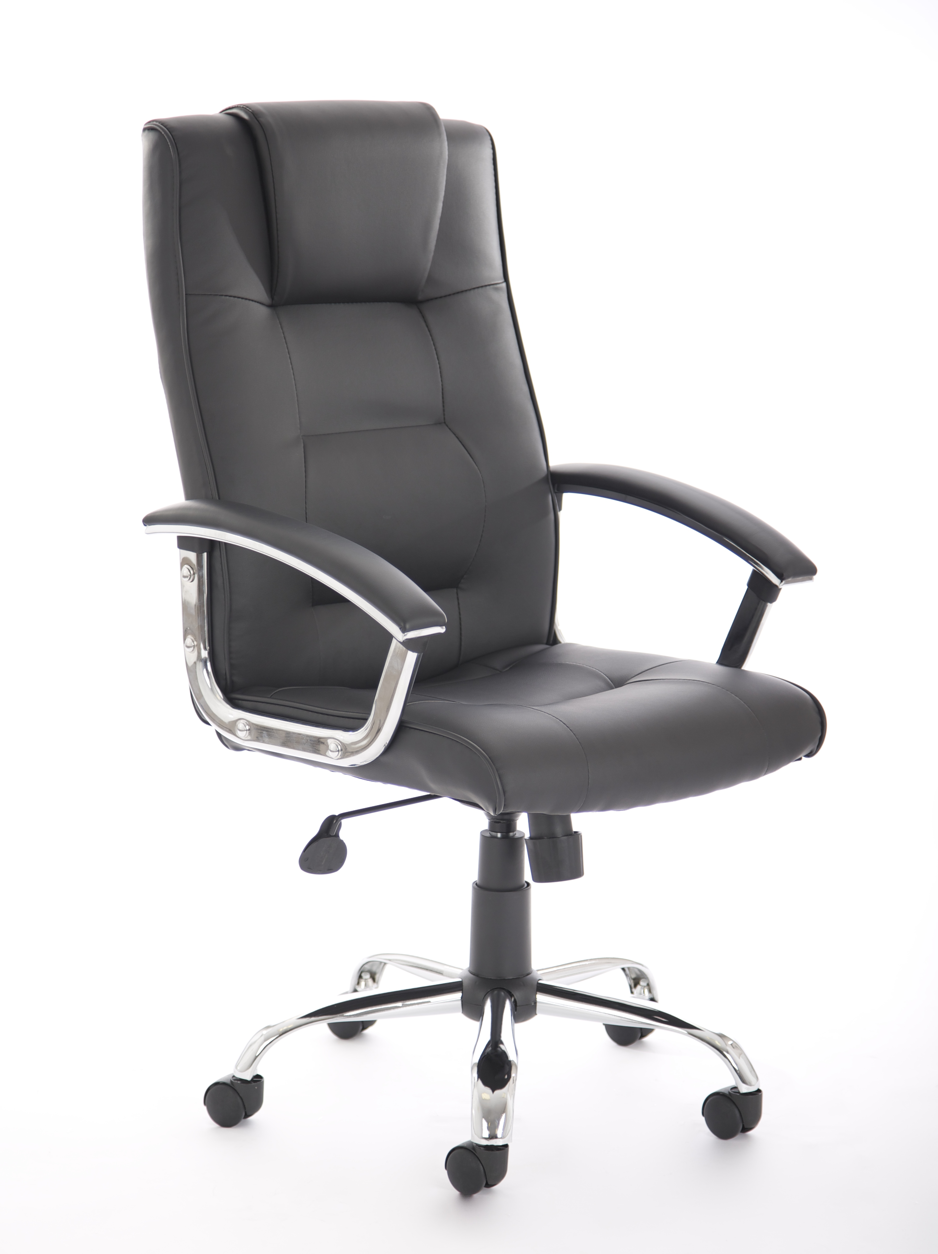 Executive Chairs Thrift Executive Chair Black Soft Bonded Leather EX000163