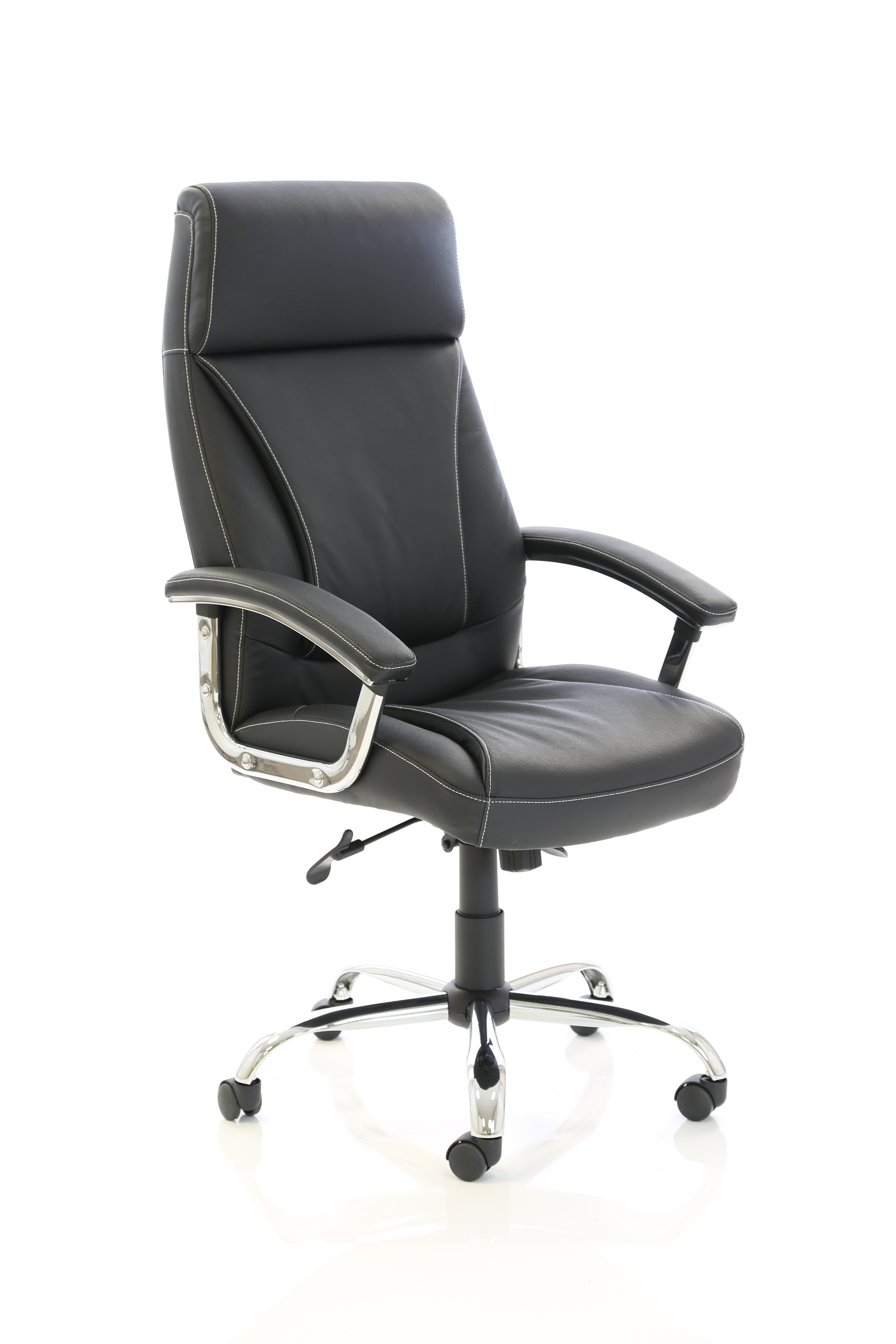 Executive Chairs Penza Executive Black Leather Chair EX000185