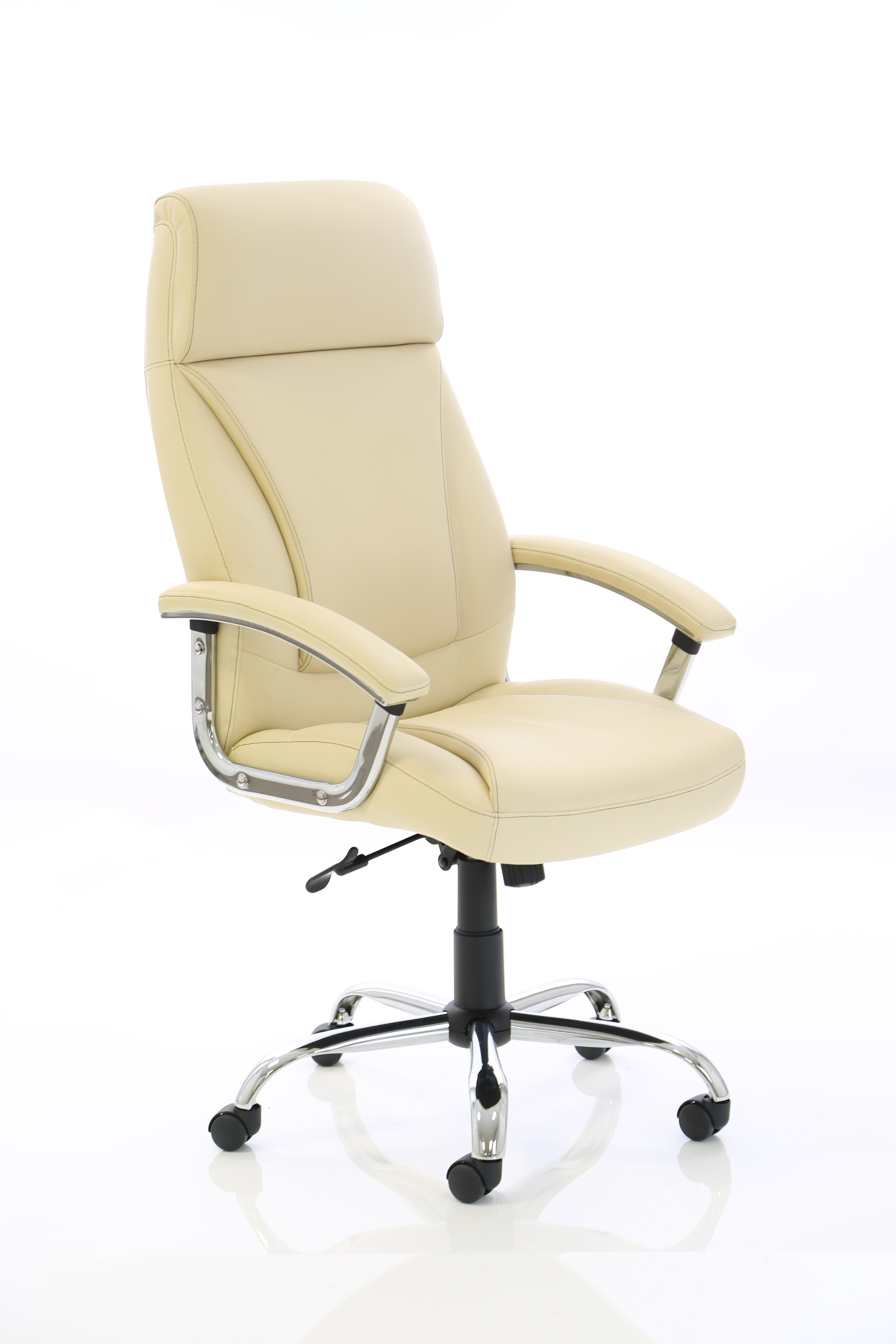 Executive Chairs Penza Executive Cream Leather Chair EX000186
