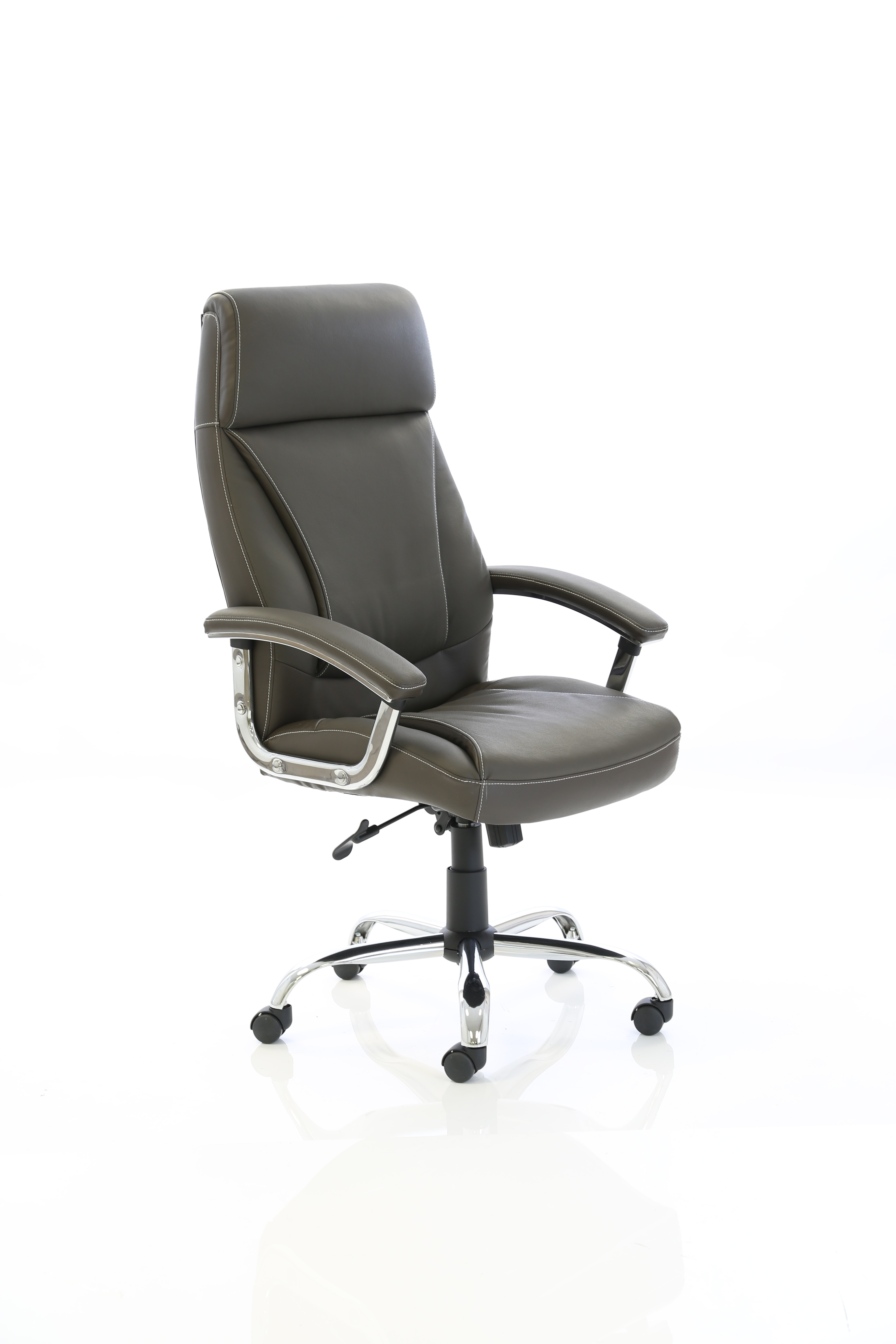 Executive Chairs Penza Executive Brown Leather Chair EX000187