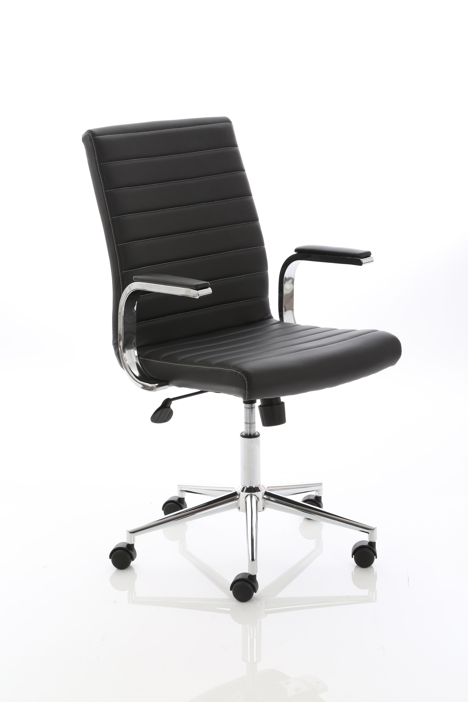 Executive Chairs Ezra Executive Black Leather Chair EX000188
