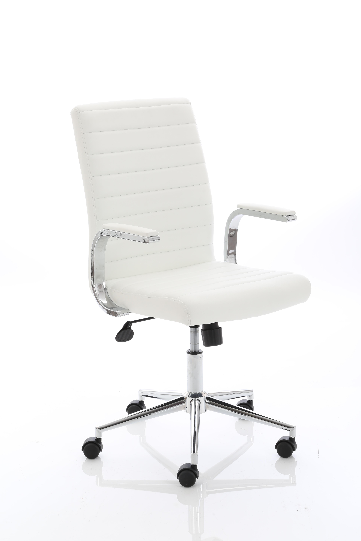 Executive Chairs Ezra Executive White Leather Chair EX000189