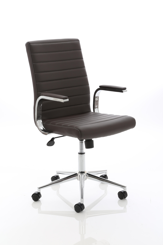 Executive Chairs Ezra Executive Brown Leather Chair EX000190