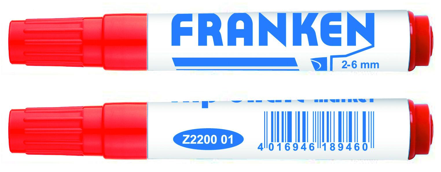 FlipchartMarker Line Width 2 – 6 MM Red 1 Piece