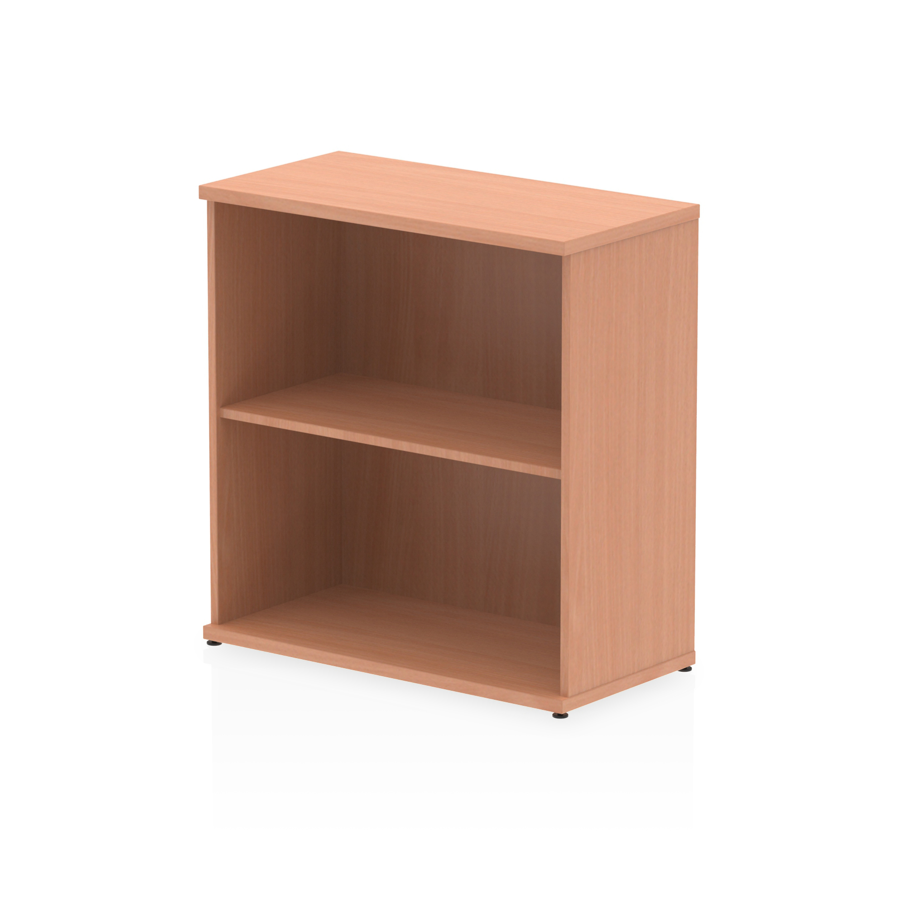Up To 1200mm High Impulse 800mm Bookcase Beech I000049