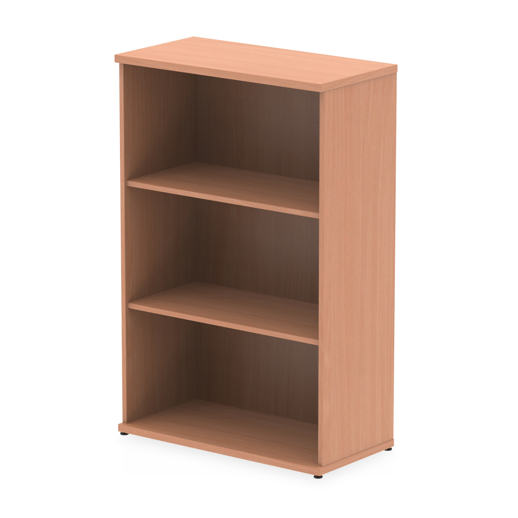 Up To 1200mm High Impulse 1200mm Bookcase Beech I000050