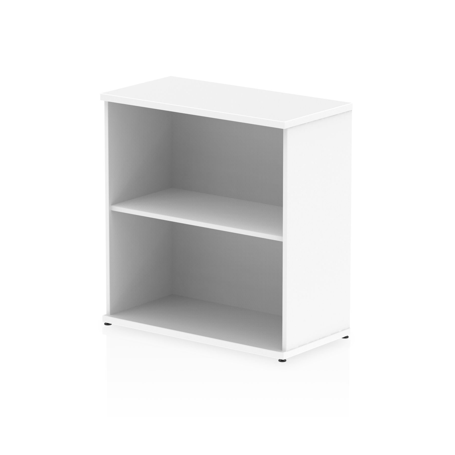 Up To 1200mm High Impulse 800mm Bookcase White I000169