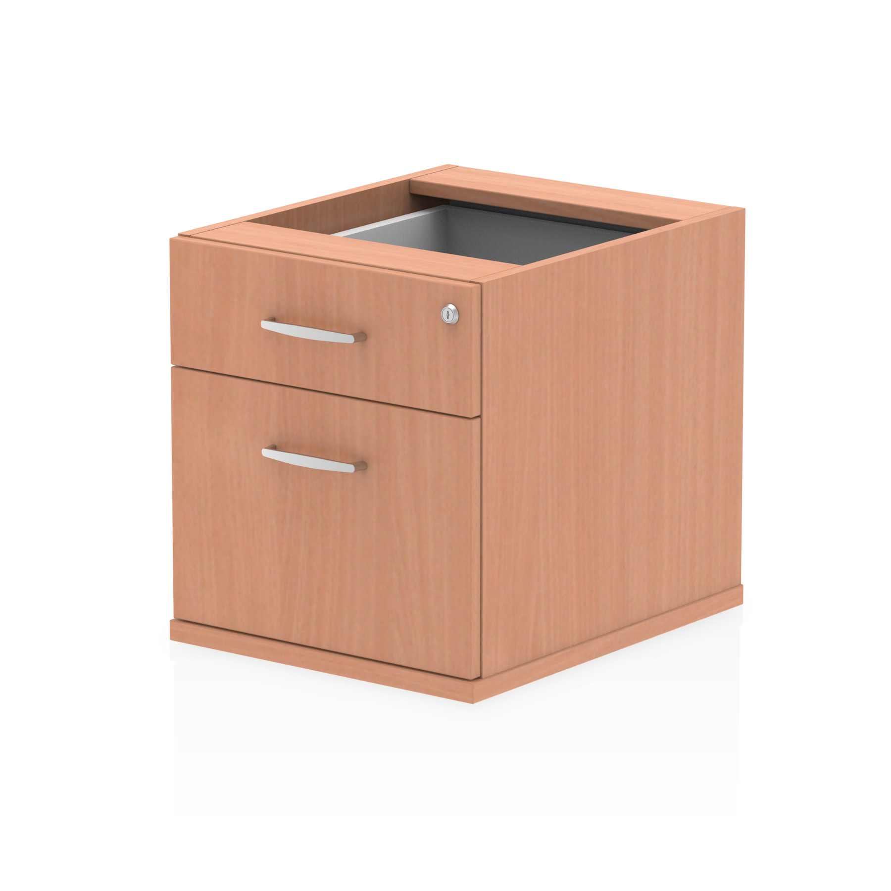 Impulse 2 Drawer Fixed Pedestal Beech I001640