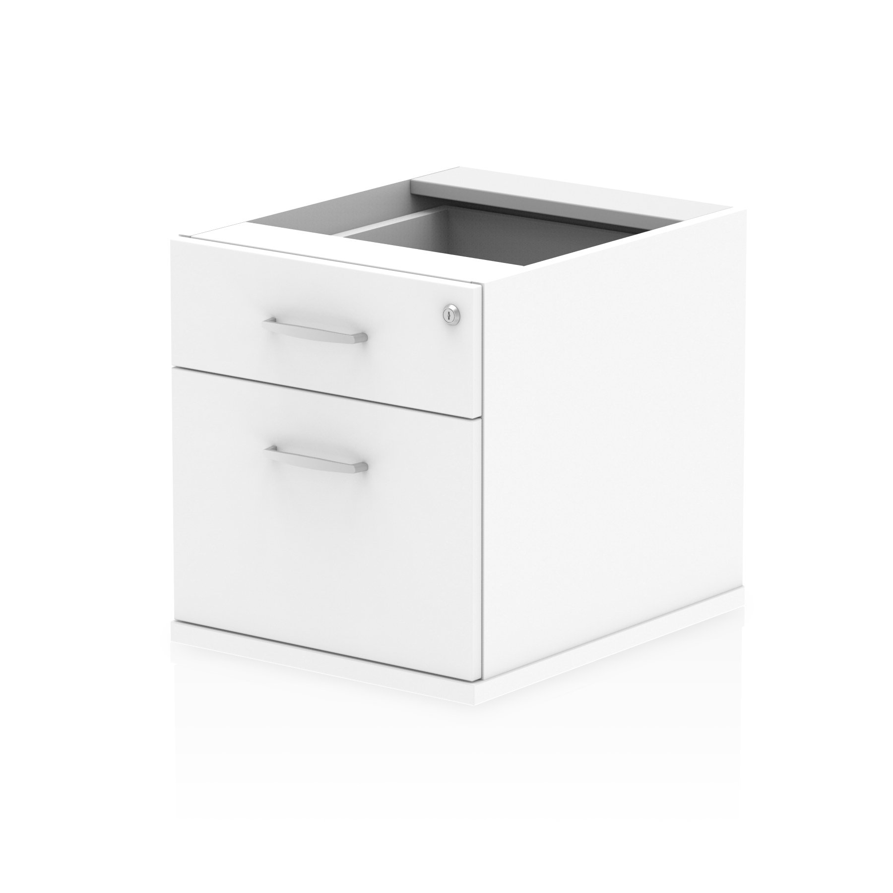 Impulse 2 Drawer Fixed Pedestal White I001642