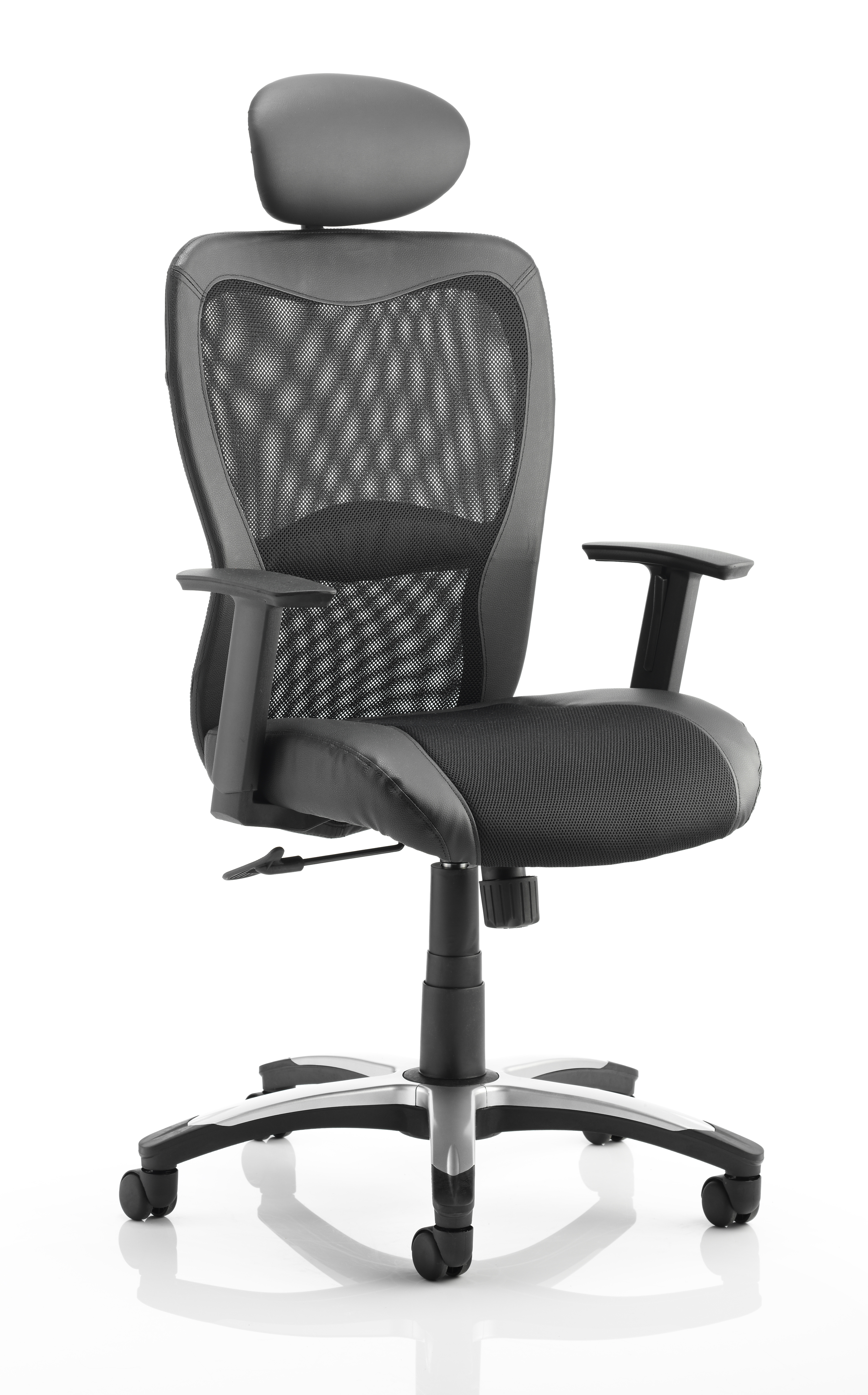 Executive Chairs Victor II Executive Chair Black With Headrest KC0160