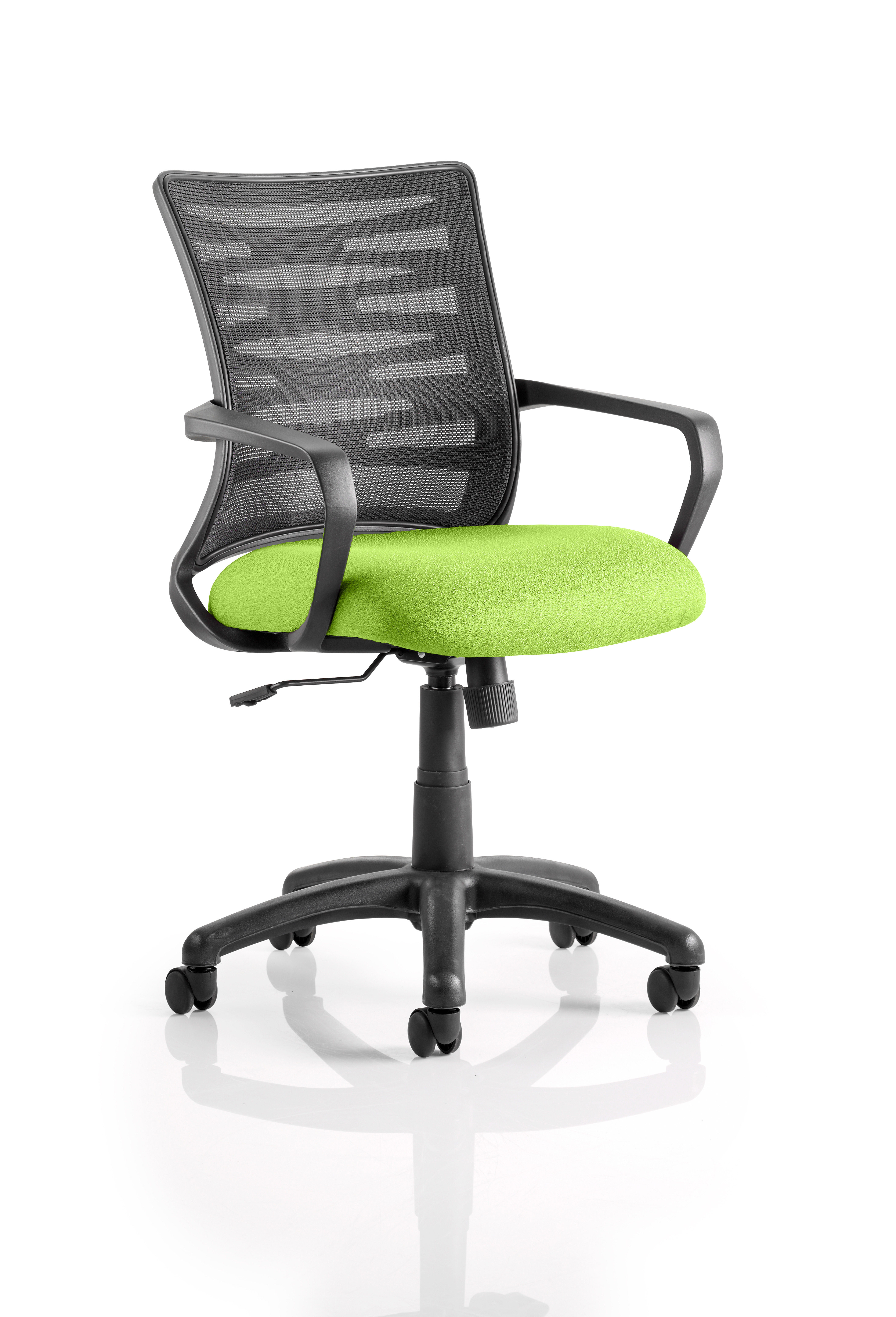 Vortex Task Operator Chair Mesh Back Bespoke Seat Myrrh Green KCUP0602