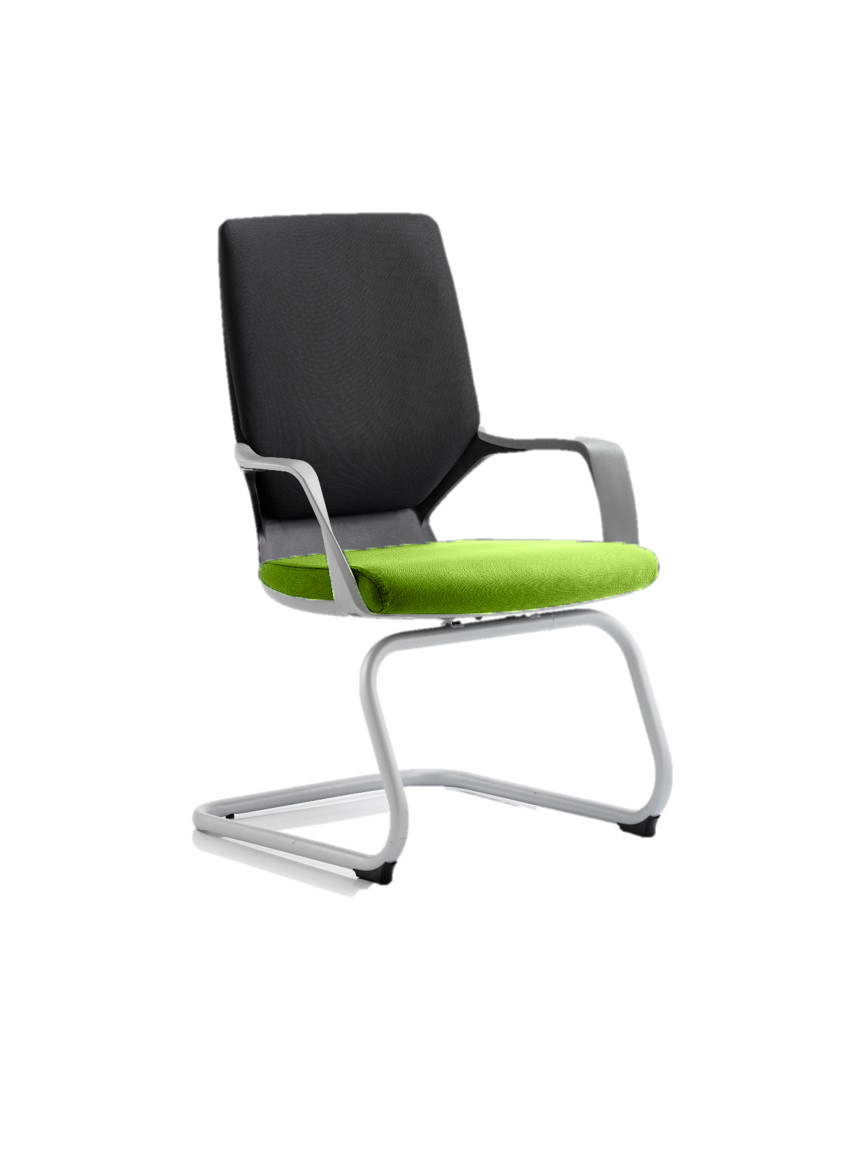 Xenon Visitor Black Shell Bespoke Colour Seat Myrrh Green