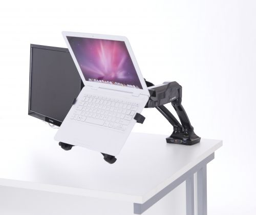 Laptop Cradle in Black
