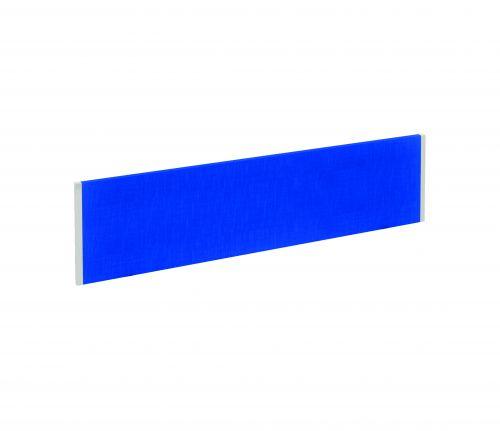 Evolve Bench Screen 1400 Blue White Frame