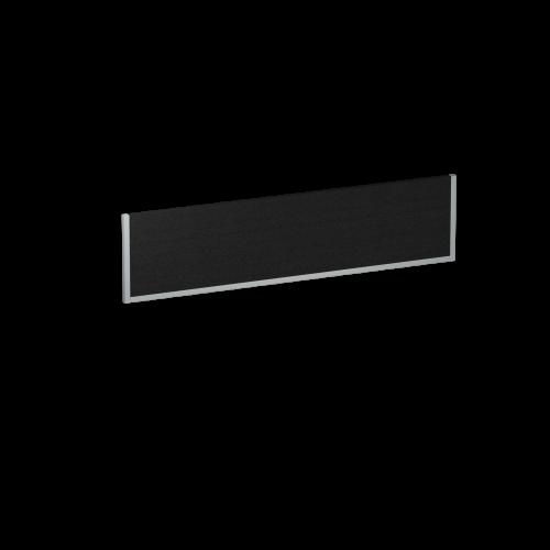 Evolve Bench Screen 1600 Black Silver Frame