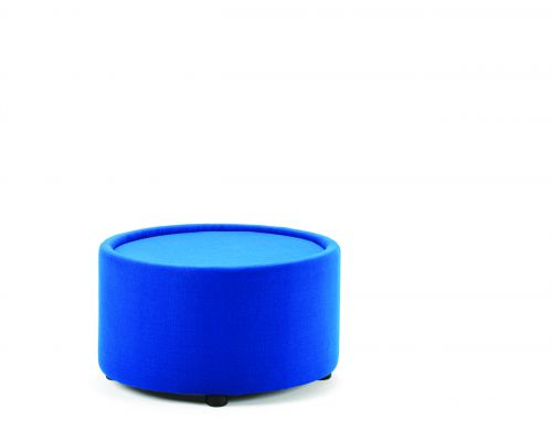 Neo Round Table Blue Fabric BR000097