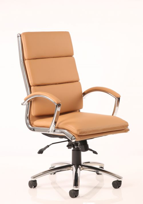 Classic Executive Chair High Back Tan EX000008