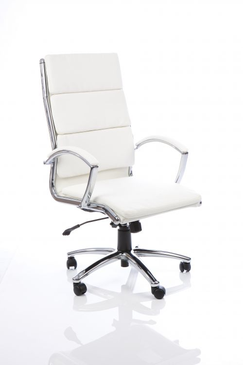 Classic Executive Chair High Back White EX000009