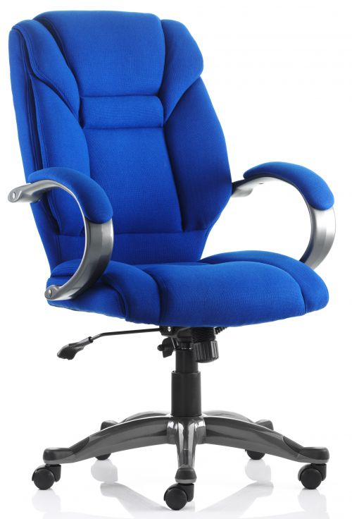Galloway Executive Chair Blue Fabric EX000031