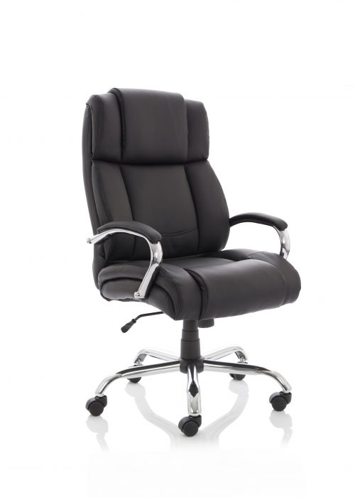 Texas Black Soft Bonded Leather EX000115