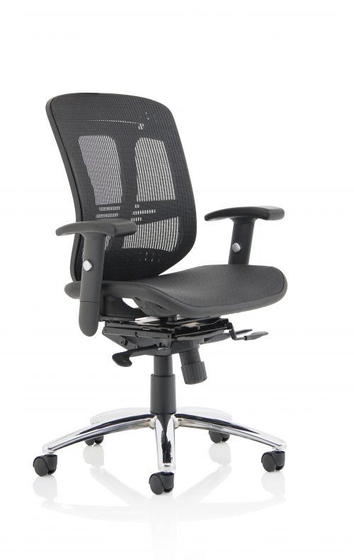 Mirage II Executive Chair Black Mesh EX000162