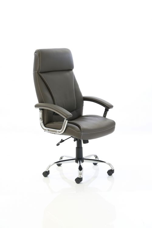 Penza Executive Brown Leather Chair EX000187