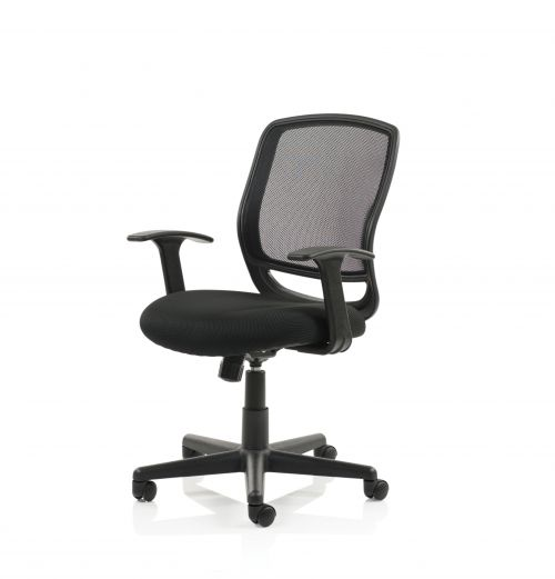 Mave Chair Black Mesh With Arms  EX000193