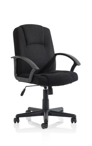 Bella Executive Managers Chair Black Fabric EX000246