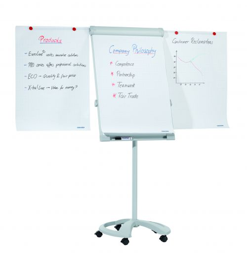 Flipchart Deluxe Mobile with 2 Extensions